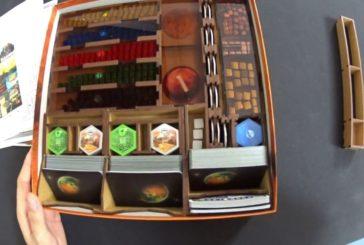 Terraforming Mars Insert/Organizer (ADC Blackfire) / Brettspielzubehör - Folge 14 / SpieLama