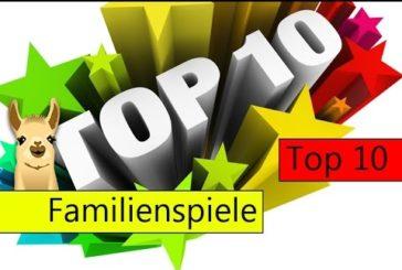 Die besten Familienspiele / Top 10 / SpieLama