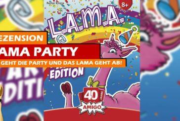 🥳 L.A.M.A. Party Edition / Rezension / Kartenspiel / SpieLama