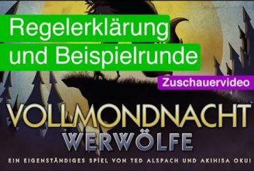 ► Vollmondnacht: Werwölfe / Rezension & Anleitung  / Reupload