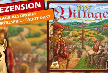 ► My Village / Rezension & Anleitung / Brettspiel