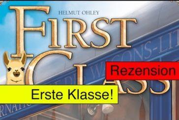 First Class (Kartenspiel) / Anleitung & Rezension / SpieLama