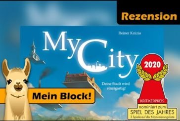 👉 My City Rezension / SdJ 2020 Nominierung🏆 / Brettspiel