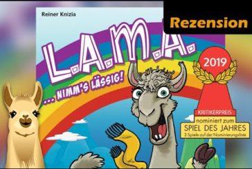► Lama / Spiel des Jahres 2019 / Nominierungsliste / Anleitung & Rezension / SpieLama