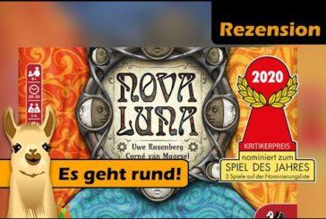 ► Nova Luna 🌜 / Rezension / Spiel des Jahres (Nominierung) / SpieLama
