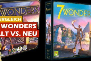 ► 7 Wonders - Neuauflage 2020 / Vergleich / Brettspiel