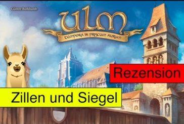 Ulm (Brettspiel) / Anleitung & Rezension / SpieLama