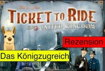 Zug um Zug: Vereinigtes Königreich (Brettspiel) / Anleitung & Rezension / SpieLama