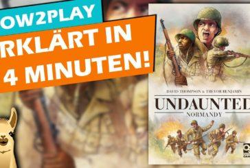 Erklärt in 14 Minuten: Undaunted Normandie / Brettspiel / Deutsch