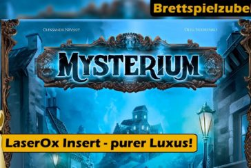 ► Insert Mysterium (LaserOx) / Brettspiel - Deutsch / Brettspielzubehör # / SpieLama