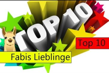 Fabis Lieblingsspiele / Top 10 / SpieLama