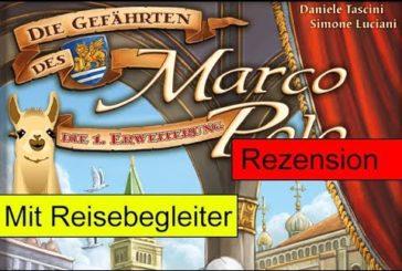Die Gefährten des Marco Polo / Erweiterung / Anleitung & Rezension / SpieLama