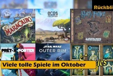 ► Oktober 2019: Neuheiten & viele tolle Spiele / Brettspiel - Deutsch / Zuletzt gespielt