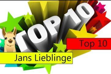 Jans Lieblingsspiele / Top 10 / SpieLama
