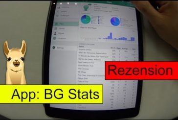 BG Stats / Brettspiel-App  (iOS)/ Spielenotizbuch / Brettspieluzbehör #5 / SpieLama