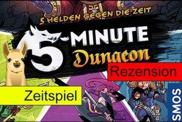 5 Minute Dungeon / Spiel des Jahres 2018 (Empfehlungsliste) / Spielanleitung & Rezension / SpieLama
