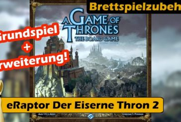 ► Insert Der Eiserne Thron (eRaptor) / Brettspiezubehör Folge 27 / Brettspiel - Deutsch