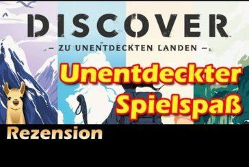 ► Discover / Brettspiel - Deutsch / Anleitung & Rezension / SpieLama