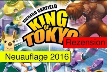 King of Tokyo - Neuauflage (Spiel) / Anleitung & Rezension / SpieLama