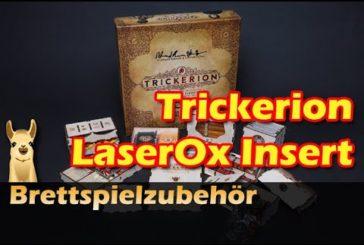 ► Trickerion Insert LaserOx / Brettspielzubehör #25 / SpieLama