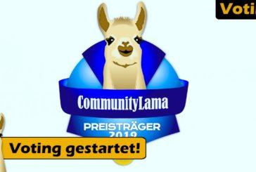 ► CommunityLama 2019 Abstimmung gestartet! | Brettspiel