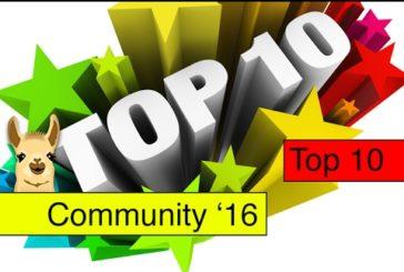 CommunityLama 2016 / Die besten Brettspiele des Jahres / Top 10 / SpieLama