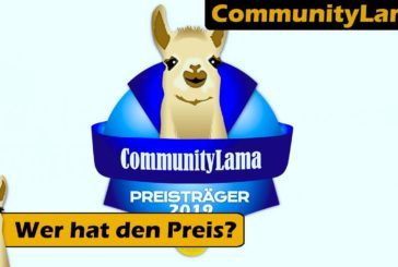 ► Verleihung CommunityLama 2019 / Brettspiel - Deutsch /