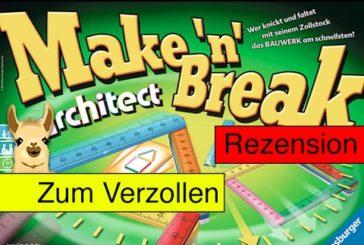 Make 'n' Break Architect (Spiel) / Anleitung & Rezension / SpieLama