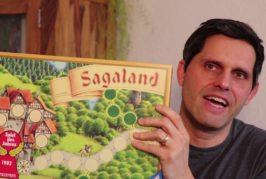 ► Sagaland / Alt vs. Neu / Jubiläumsausgabe / Brettspiel