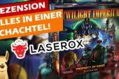 ► Twilight Imperium 4 mit Erweiterung verstauen! - Laserox Insert Review | Brettspiele