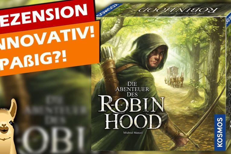 ► Ab in den Sherwood Forest! Robin Hood im Review / Rezension / Brettspiel