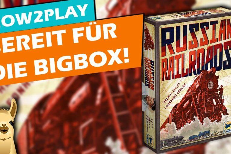 Russian Railroads komplett erklärt! - Kommt als BigBox wieder, Zeit die Regeln zu lernen!