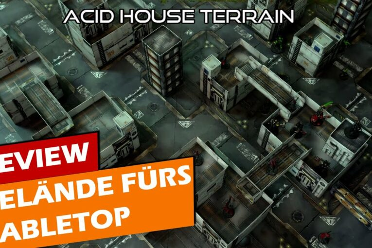 ► Acid House Terrain - Tabletop Review - Infinity / Warhammer 40K Kill Team