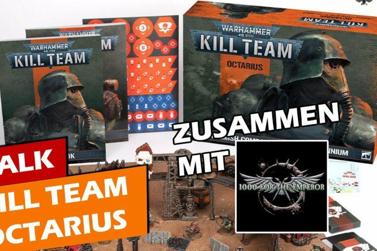 ► Warhammer 40K Kill Team Talk mit Stefan (1000 für den Imperator) | Tabletop | Warhammer40K